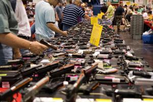 Gun show in Vermont