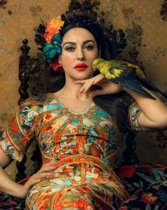 Monica Bellucci in Dolce & Gabbana Photography by Signe Vilstrup Harper's Bazaar Ukraine
