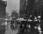 NewYorkCityTimesSqaure1940svintagephotorain