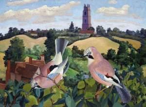 Stoke by Nayland Church, by Sir Cedric Morris