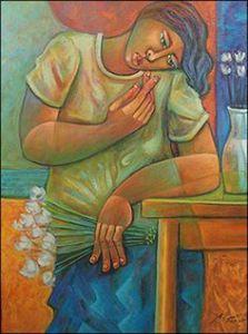 Brazilian artist Adelio Sarro is known for portraits