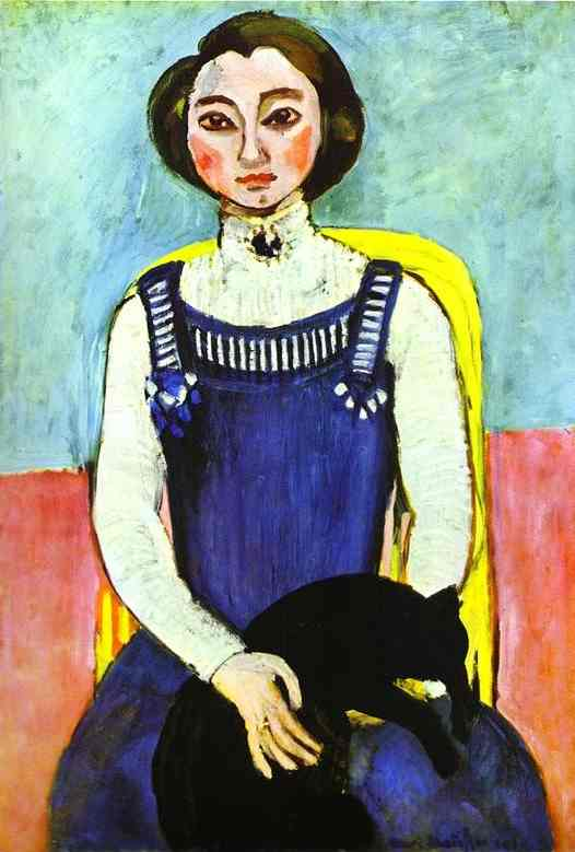Henri Matisse, Girl with a black cat