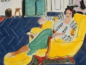 Henri-Matisse-Woman-Seated-in-an-Armchair-Detail-2