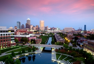 Indianapolis Skyline © Rich Clark, 2011