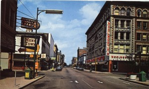 Downtown Muncie in the 1960s