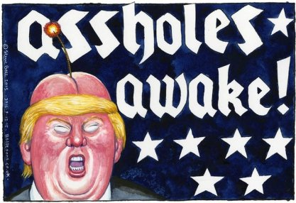 Steve Bell, UK The Guardian