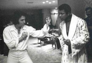Muhammed Ali with Elvis Presley