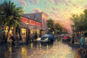 Key West, Thomas Kinkade