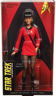 star trek uhura barbie doll