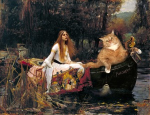 Waterhouse_-_The_Lady_of_Shalott_floating_to_Cat-melot-w