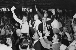 Thomas E. Dewey at the 1948 Republican Convention