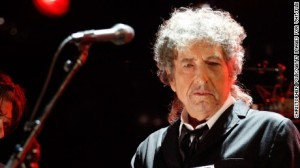 Bob Dylan, winner of the 2016 Nobel Prize in literature