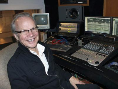 In this Dec. 18, 2013 file photo, Bobby Vee poses at the studio console at his family's Rockhouse Productions in St. Joseph, Minn. (AP Photo/Jeff Baenen, File)