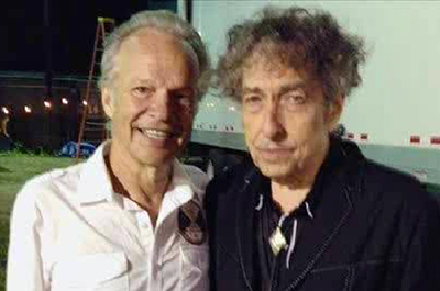 Bobby Vee and Bob Dylan in 2013