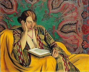 Félix Vallotton, The Reader