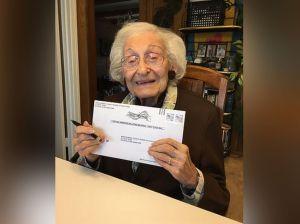 Estelle Liebow Schultz, 98, of Rockville, Maryland