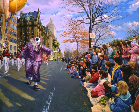 Thanksgiving Day Parade, by Garin Baker