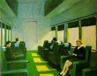 Chair Car, Edward Hopper