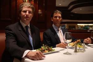 Uday and Qusay dining at Trump Grill