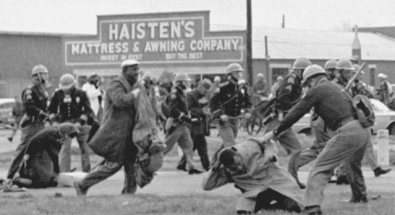 John Lewis, beaten during Selma to Montgomery march.