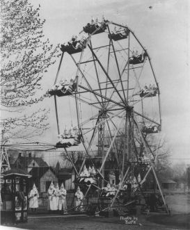 Ku Klux Klan on a Ferris Wheel--a metaphor for tRump World?