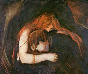 Edvard Munch: Vampire