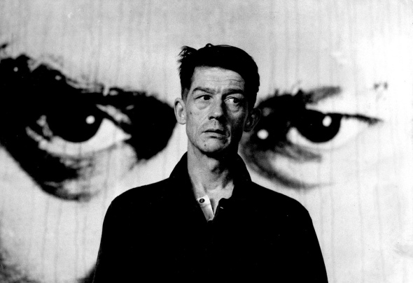John Hurt as Winston Smith in Nineteen Eighty-Four.