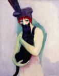 Kees von Dongen, Woman with Cat1908