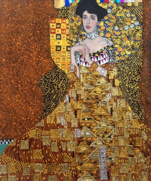 Handpainted-Portrait-Oil-Painting-Replicas-Portrait-of-Adele-Bloch-Bauer-I-Gustav-Klimt-s-Painting-on