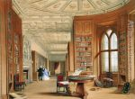 The Library, WindsorCastle, 1838 James BakerPyne