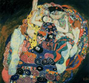 the-maiden-gustav-klimt
