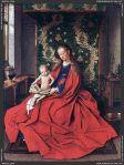 Jan Van Eyck – Madonna with the Child Reading ( 1433)