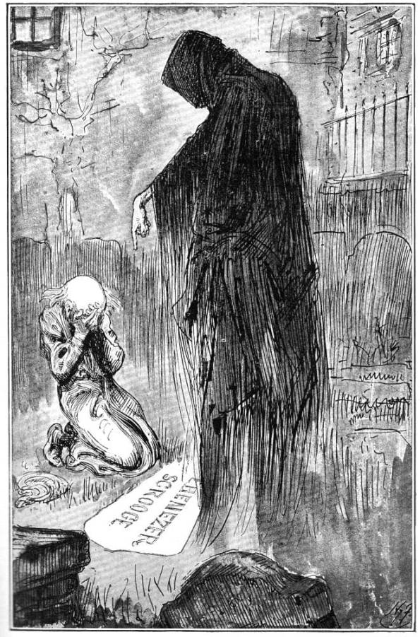 The Last of the Spirits by Harry Furniss | Sky Dancing