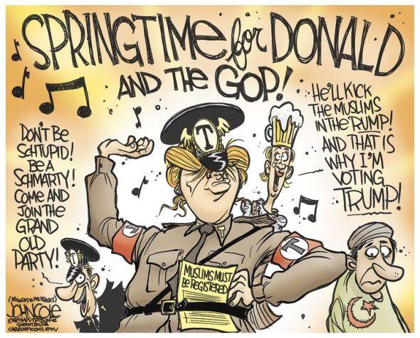 Republicans Vs Military >> Wednesday Reads: Springtime for tRump…   Sky Dancing
