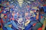 Charlotte Johnson Wahl, Subway NYC,1994