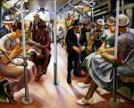 Lily Furedi, Subway,1934