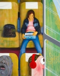 Nicole-Eisenman-Weeks-on-the-Train-2015-Oil-on-canvas-82-x-65-inches
