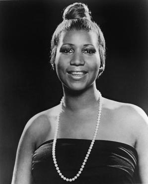 Portrait Of Aretha Franklin
