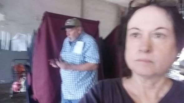 me voting