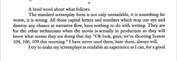 William goldman four screenplays with essays