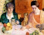The cat's lunch, Pierre Bonnard, circa 1906