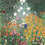 Flower Garden by Gustav Klimt,1905