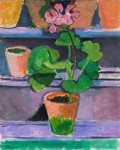 Pot of Geraniums, Henri Matisse