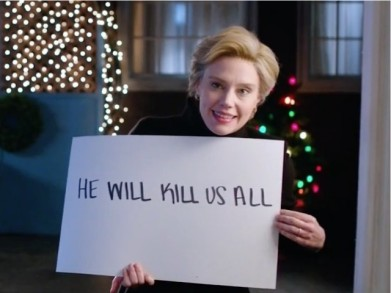 Image result for image hillary SNL he will kill us all