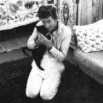 William-Faulkner-and-cat