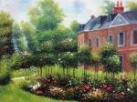 The Rose Garden at Wargemont, Pierre AugustRenoir,