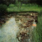 Gustav Klimt, The Marshy Pond