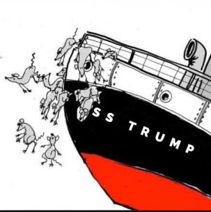 Image result for rats leaving sinking ship photo