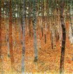 Gustav Klimt, Birch Forest I, 1902, privatecollection