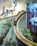 Train Smoke, 1900,Munch